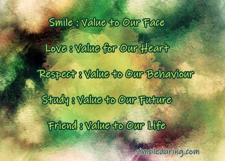 valueofourlife