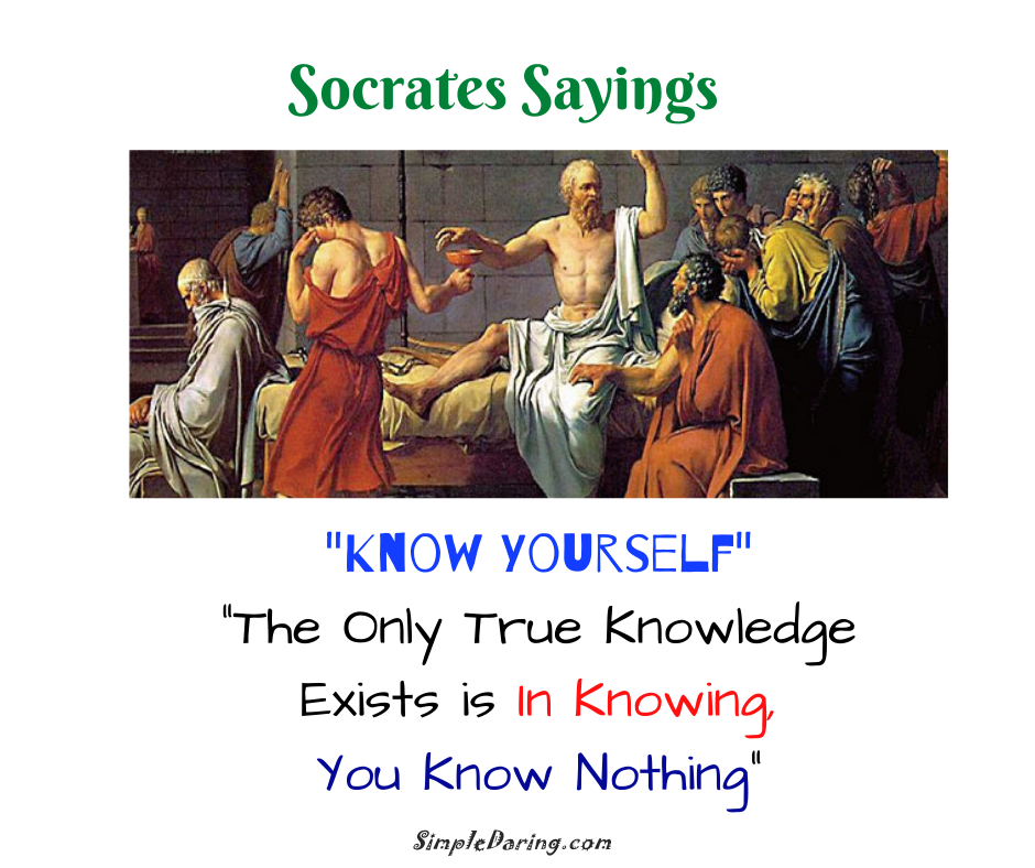 _Know Yourself_ _The Only True Knowledge Exists is In Knowing, You Know Nothing_